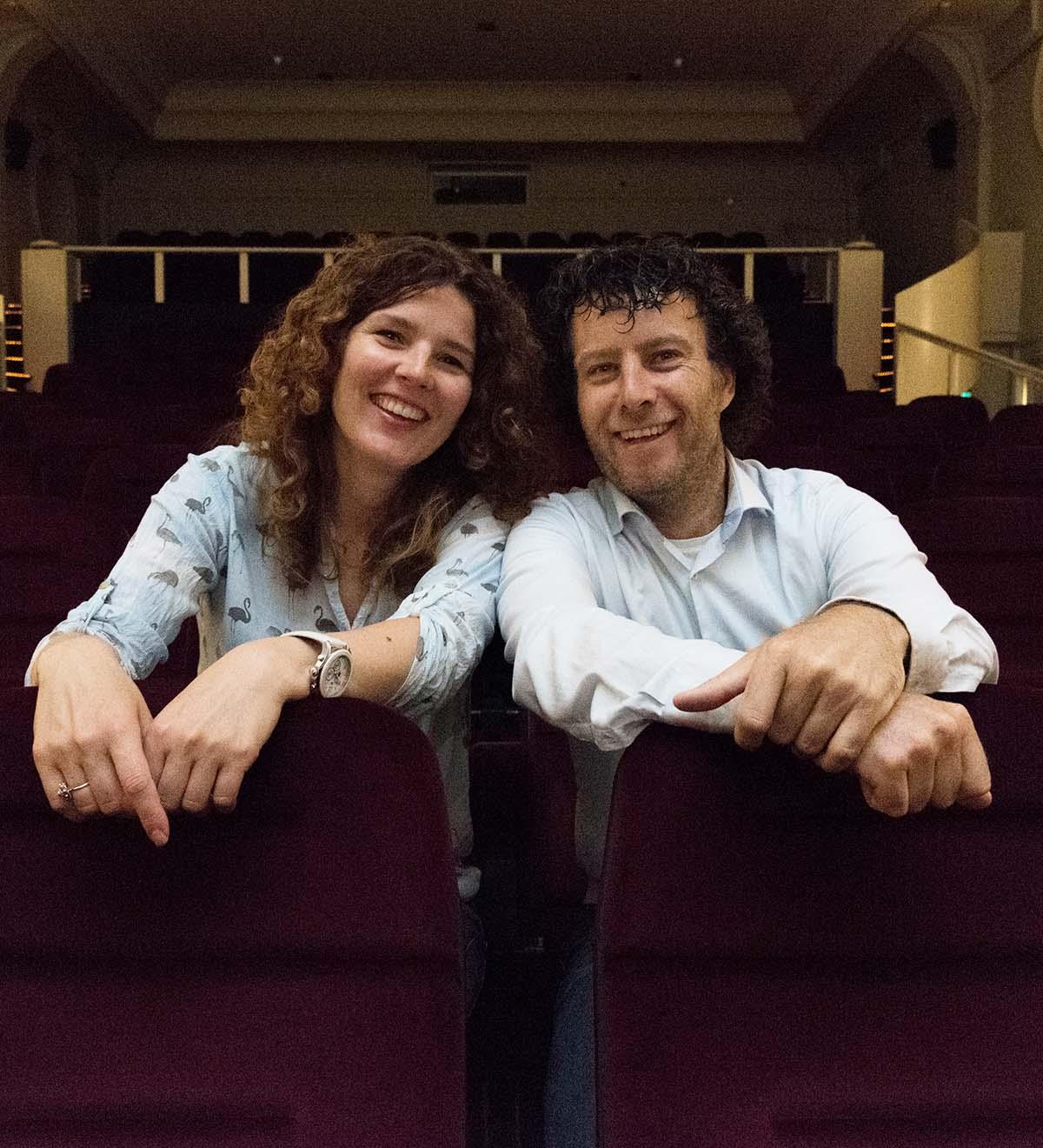 Filmmakers Dennis de Bakker en Lidi Toepoel